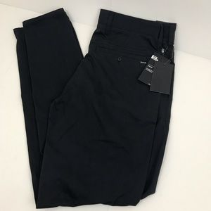 New Hurley Men's Black Dri-Fit Worker Pants